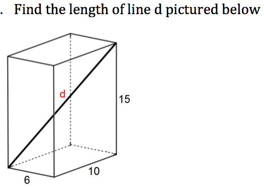 Pythagoras' Theorem: challenging questions, engage students